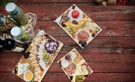 Meat and cheese platters from The Grater Good
