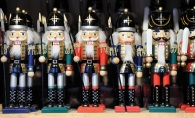Nutcrackers at the Excelsior Christkindlsmarkt
