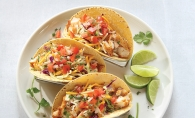Whitefish Tacos with Chipotle Lime Crema