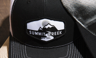 A hat made by Excelsior company Summit Creek Hat Co.