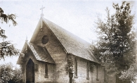 Excelsior's Trinity Episcopal Church chapel circa 1920.