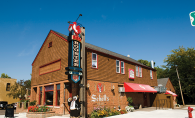The Red Rooster Bar and Restaurant in Long Lake