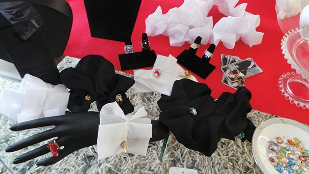 """""""Cuff'n'Ruffle"""" plus """"Linx"""" for Ladies (cuff links) by SusiBash"""