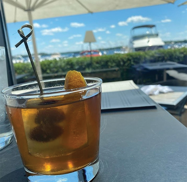 An old fashioned from 6Smith