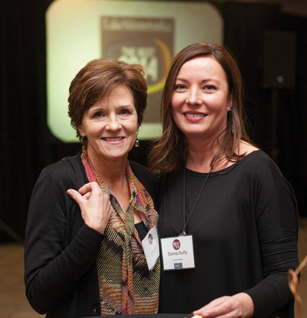 Mary Kuhn and Donna Duffy
