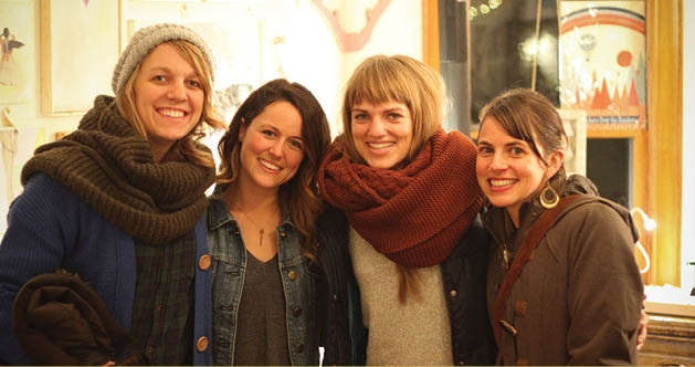 Diana Suedbeck, Ashley Barlow, Natalie Patton and Jen Lindwall