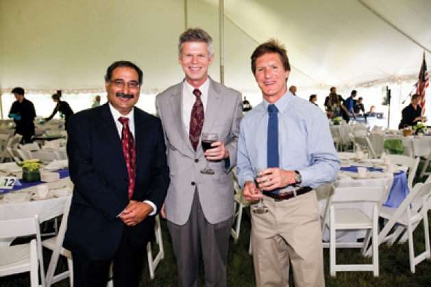 Jamshed Merchant, Henry Bromelkamp and Jeff Nelson