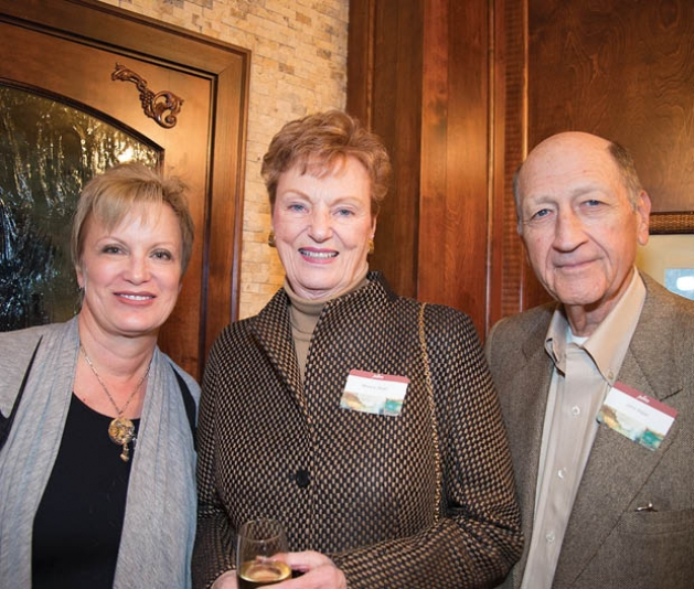 JulieAnn Witt, Bev and John Wiper