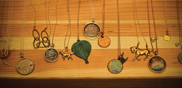 A sample of Ashley Barlow's wares