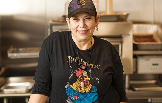 Soulaire Allerai, owner of Bad Rooster Food Truck