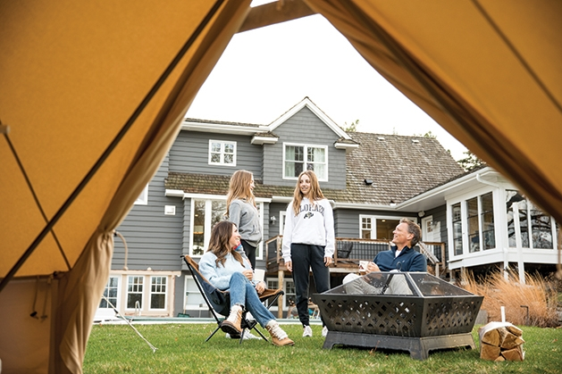 """The ideal """"campground"""" might be in your backyard or home."""