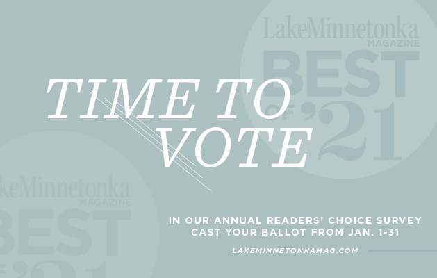 A graphic announcing the Best of Lake Minnetonka 2021 contest.