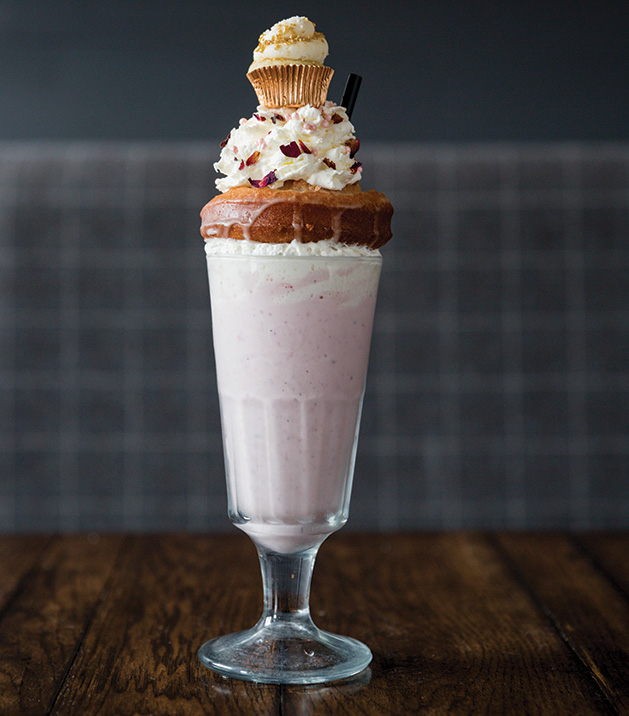 Scandinavian Grandma, one of the signature shakes from new Minnetonka restaurant Copper Cow.