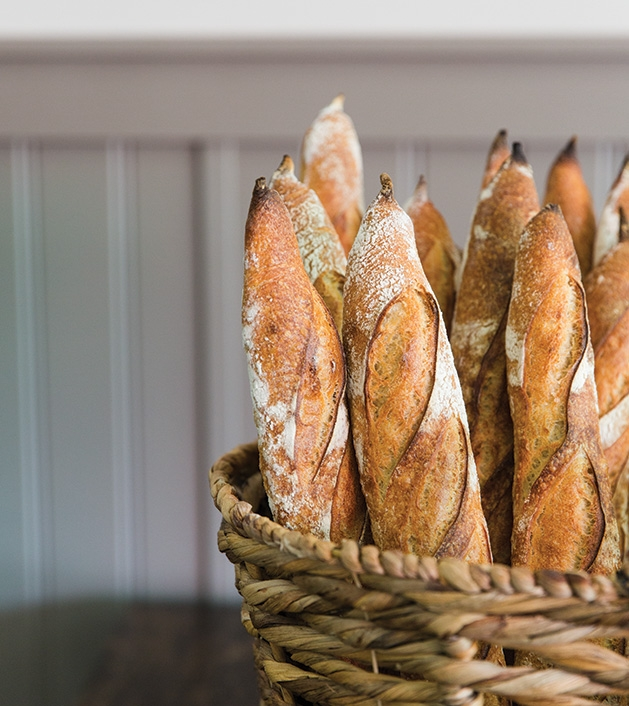Baguettes from Red Bench Bakery