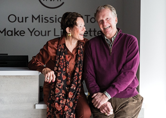 Sandra and Richard Brown, founders of Home Again and Voice Solutions and regional developers for Modern Acupuncture.