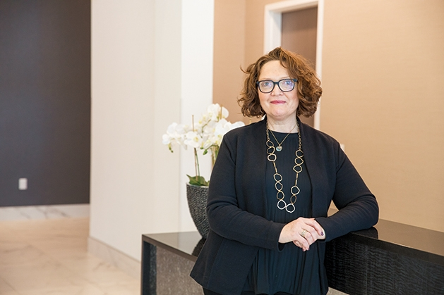 Sharon Stillman, concierge at The Luxe Apartments at Ridgedale