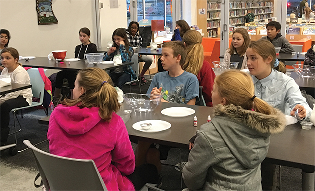 Teens participate in STEM activities at Excelsior Library's Teen FabLab