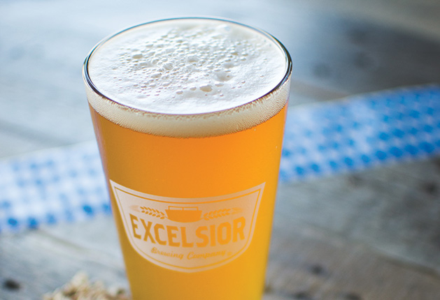 A beer from Excelsior Brewing Co.