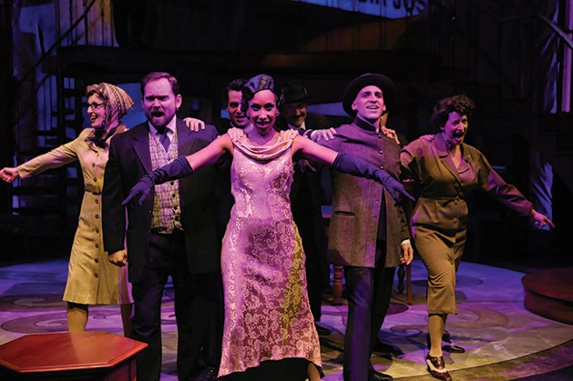 "A performance of ""Dirty Business"" at History Theatre in St. Paul"