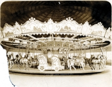 The Excelsior Amusement Park carrousel