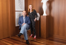 Fernando Peña, M.D., and Julie Thompson, M.D., founders of Julieta Shoes