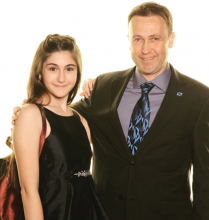 MasterChef Junior's Ariana Feygin and her father Lenny