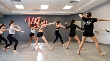 A fitness class at Vibe Dance and Fitness, a boutique dance studio in Minnetonka