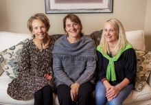Toni Plante, Cathy Rude and Robin Livingston-Richter