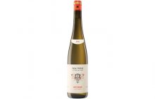 A bottle of Nik Weis Wiltinger Kabinett Riesling