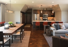 An independent living quarters for an adult with special needs designed by Denali Custom Homes