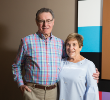 Minnetonka artist Sandy Resig and his wife, Bonnie