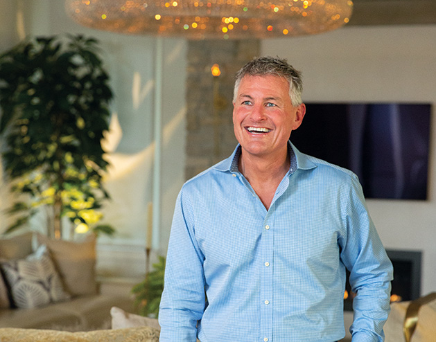 Todd Simning, who helped Laurie and Paul Douglas design and build their Lake Minnetonka home.